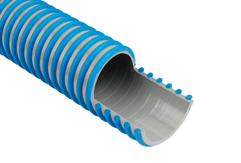 Medium Duty Suction and Delivery Hose with External Spiral