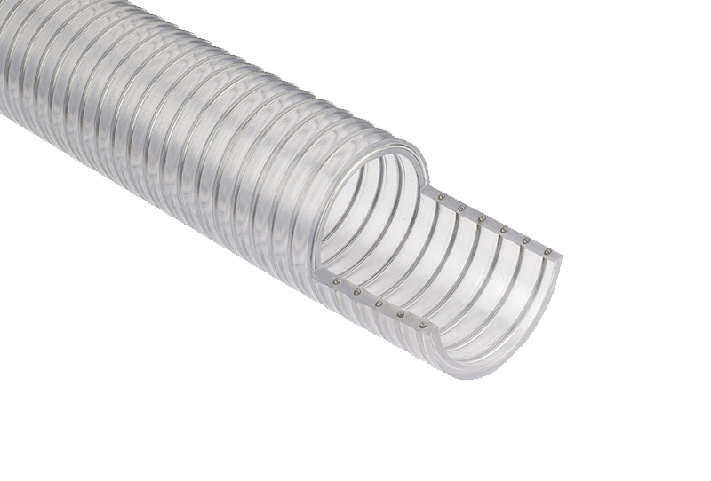 SpringflexTM Clear/Wire Reinforced Hose